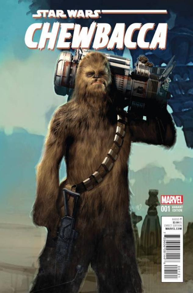 Chewbacca #1 (Olivetti Cover)