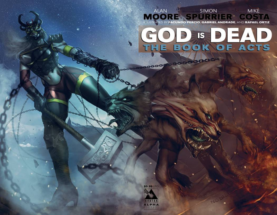 God Is Dead: The Book of Acts - Alpha (Carnage Wrap Cover)
