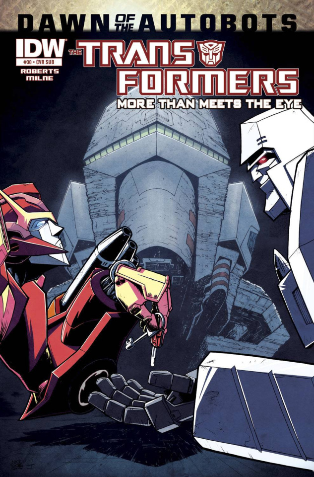 The Transformers: More Than Meets the Eye #30 (Subscription Cover)