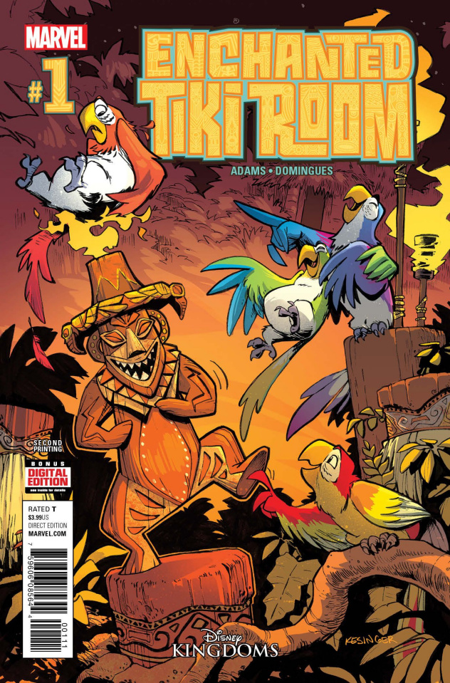 Enchanted Tiki Room #1 (2nd Printing Kesinger Cover)