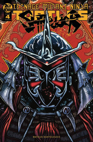 Teenage Mutant Ninja Turtles: Shredder in Hell #4 (Eastman Cover)