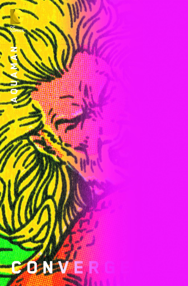 Convergence: Aquaman #1 (Chip Kidd Cover)