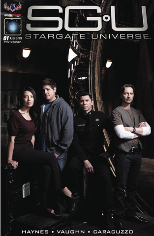 Stargate Universe: Back to Destiny #1 (3 Copy Photo Cover)