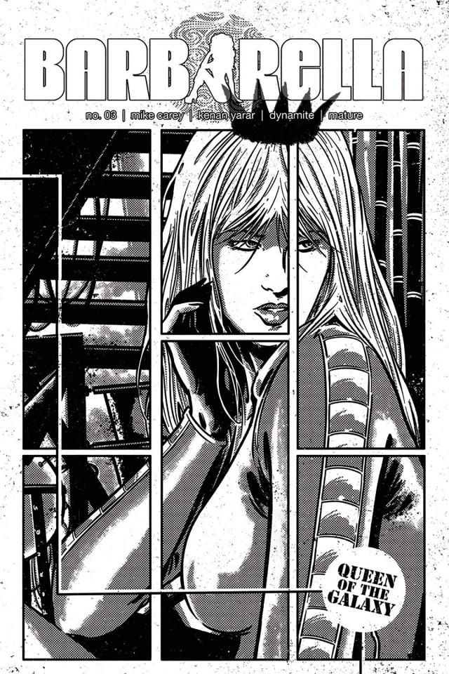 Barbarella #3 (20 Copy Fornes Cover)