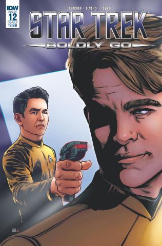 Star Trek: Boldly Go #12 (Shasteen Cover)