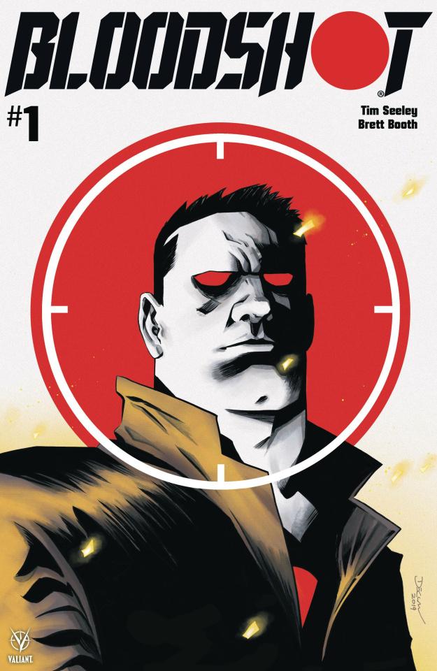Bloodshot #1 (Shalvey Cover)