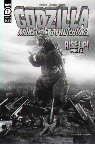 Godzilla: Monsters & Protectors #1 (Photo Cover)