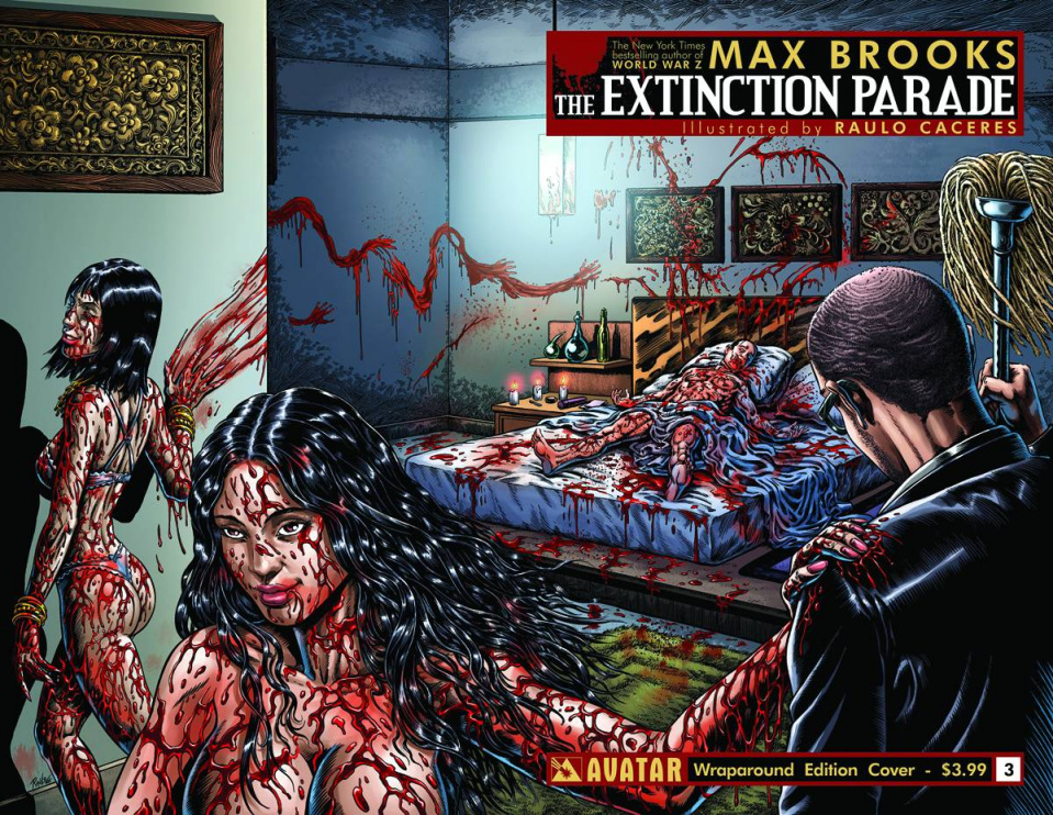 The Extinction Parade #3 (Wrap Cover)