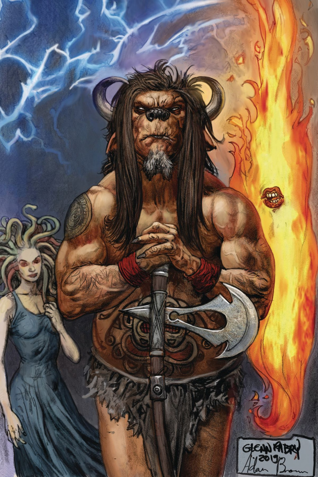 American Gods: The Moment of the Storm #7 (Fabry Cover)