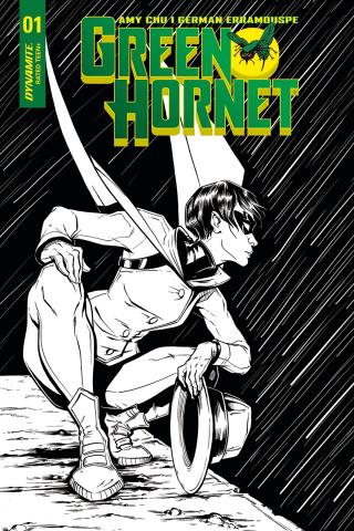 Green Hornet #1 (20 Copy Ihde B&W Cover)