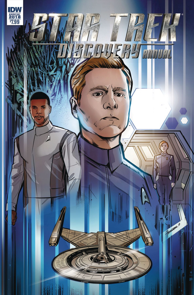 Star Trek: Discovery Annual 2018 (Hernandez Cover)