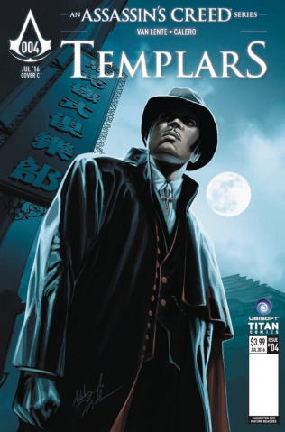 Assassin's Creed: Templars #4 (Corroney Cover)