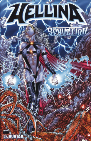 Hellina: Seduction Preview (Platinum Foil Cover)