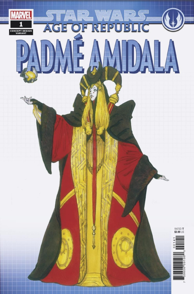 Star Wars: Age of Republic - Padmé Amidala #1 (Concept Cover)