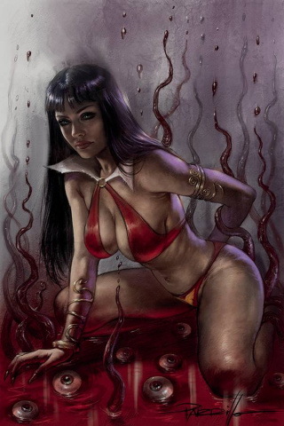 Vampirella #17 (Parrillo Virgin Cover)