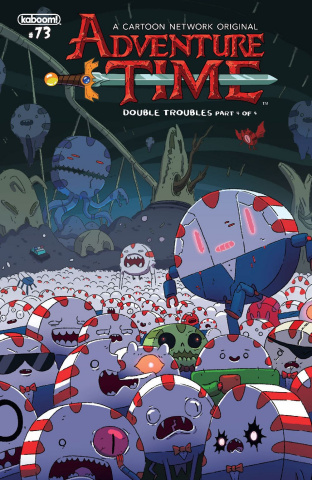 Adventure Time #73 (Subscription McCormick Cover)