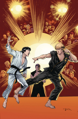 Cobra Kai: The Karate Kid Saga Continues #4 (McLeod Cover)