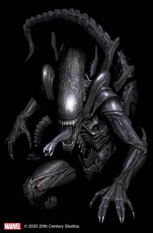 Alien #1 (Inhyuk Lee Virgin Cover)