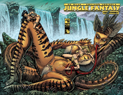 Jungle Fantasy: Survivors #6 (Wrap Cover)