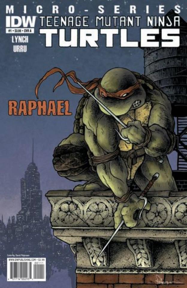 Teenage Mutant Ninja Turtles Micro-Series #1: Raphael
