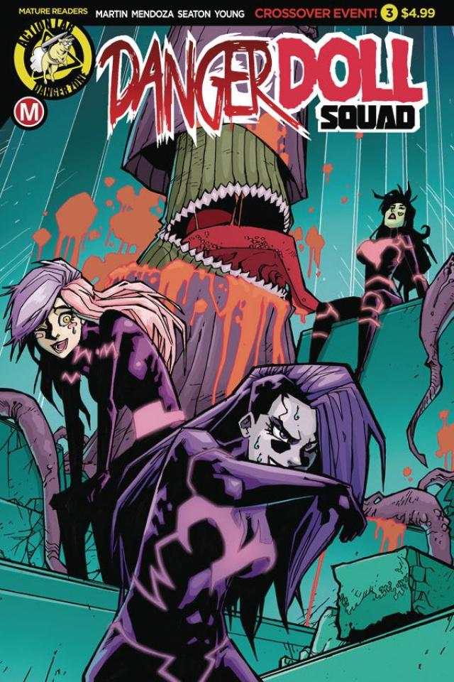 Danger Doll Squad #3 (Maccagni Cover)