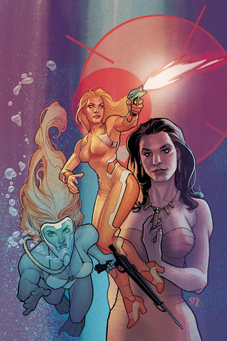 Charlie's Angels #2 (20 Copy Roux Virgin Cover)