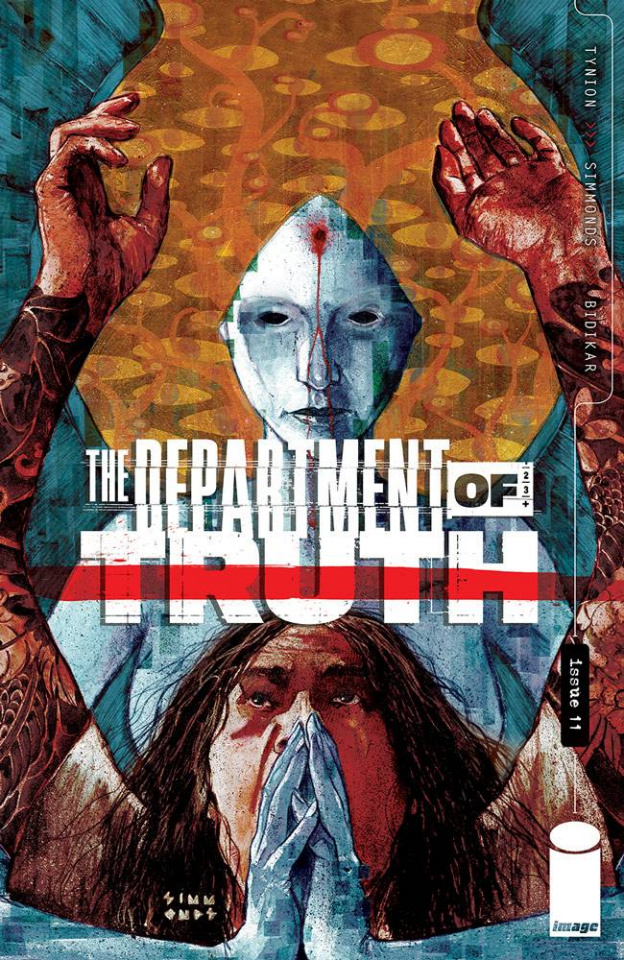 The Department of Truth #11 (Simmonds Cover)