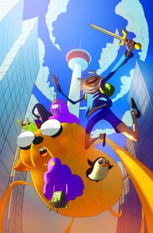 Adventure Time #15 (Calgary Exclusive)