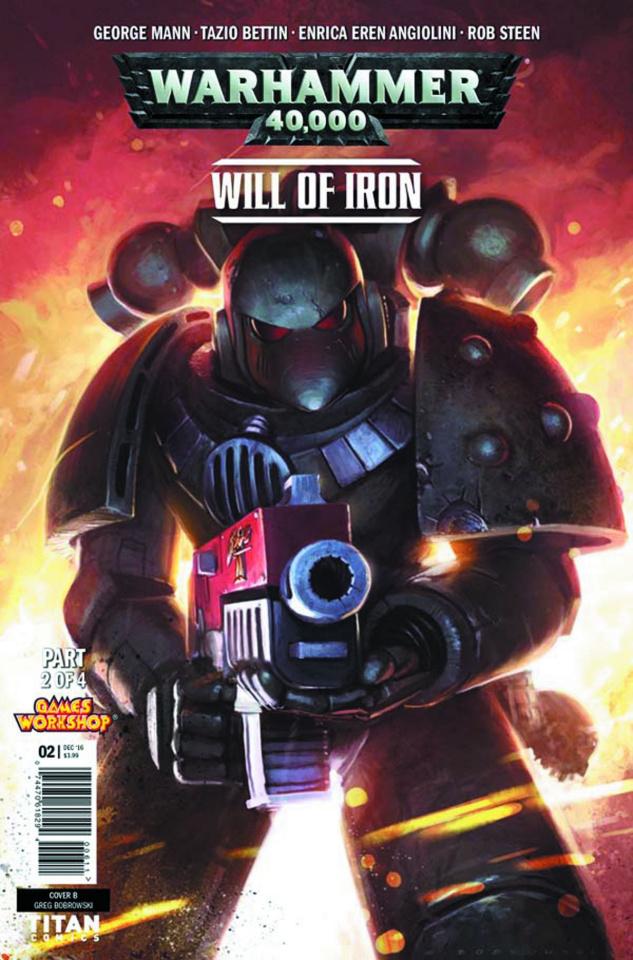 Warhammer 40,000: Will of Iron #2 (Bobrowski Cover)
