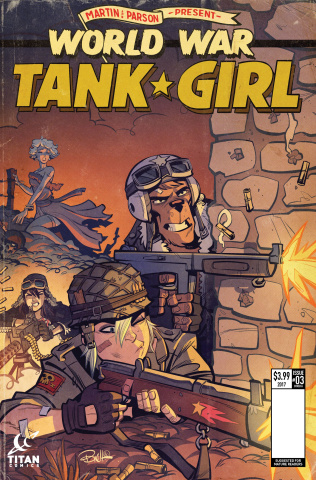 Tank Girl: World War Tank Girl #3 (Parson Cover)