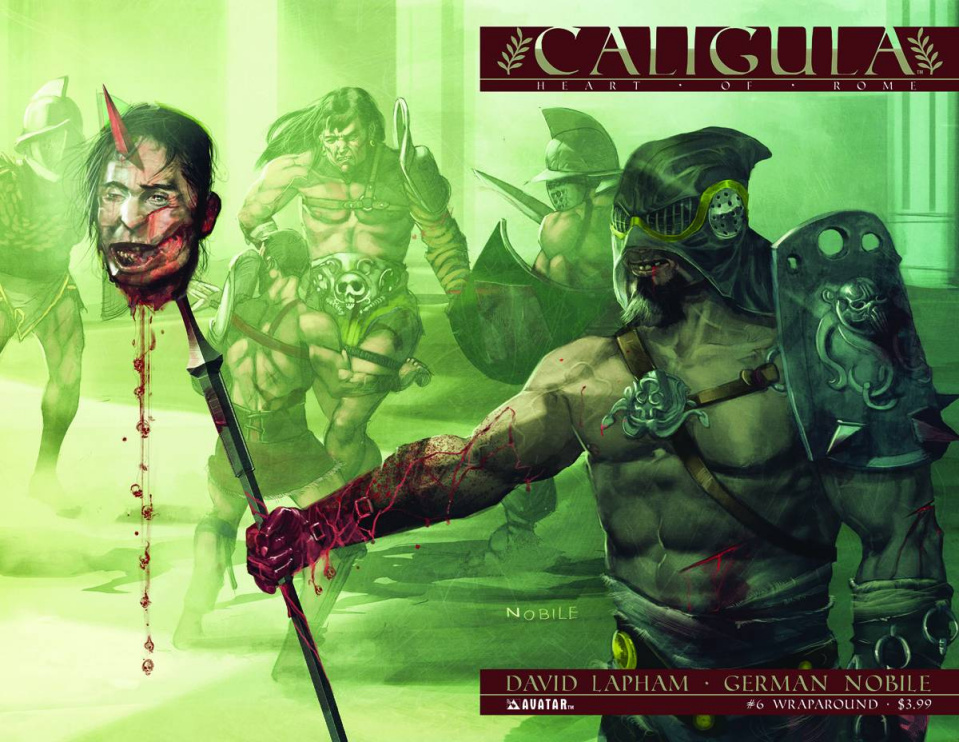 Caligula: Heart of Rome #6 (Wrap Cover)