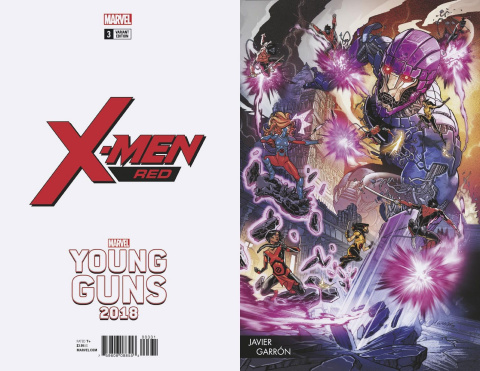 X-Men: Red #3 (Garron Young Guns Cover)