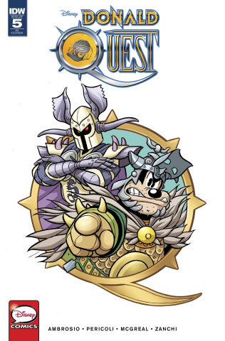 Donald Quest #5 (10 Copy Cover)