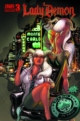 Lady Demon #3 (Chin Cover)