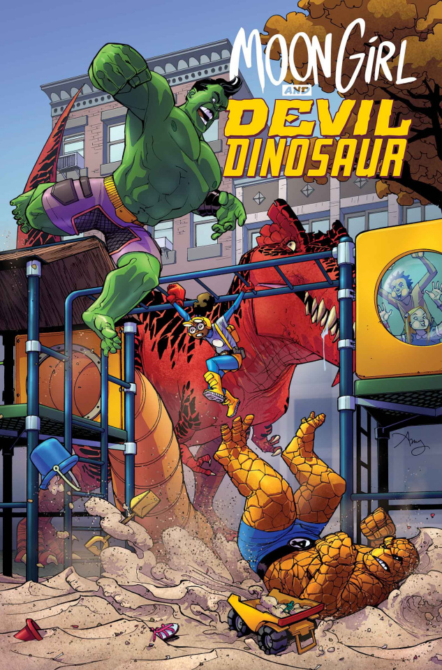 Moon Girl and Devil Dinosaur #14