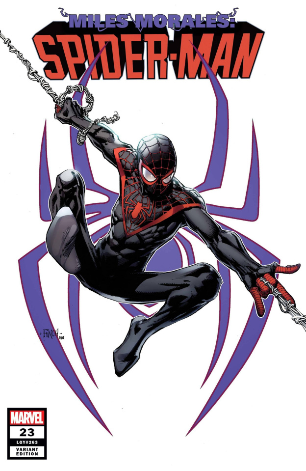 Miles Morales: Spider-Man #23 (Finch Miles Morales Cover)
