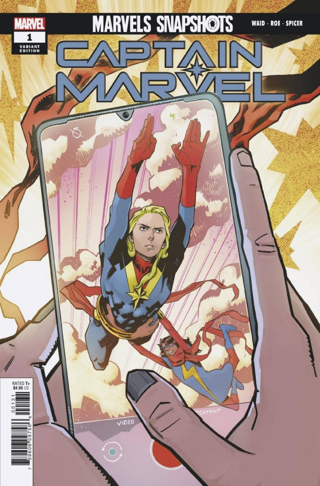 Marvels Snapshots: Captain Marvel #1 (Roe Cover)