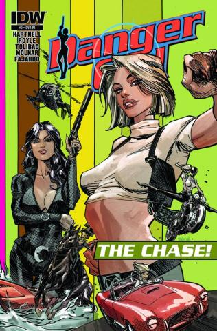 Danger Girl: The Chase #1