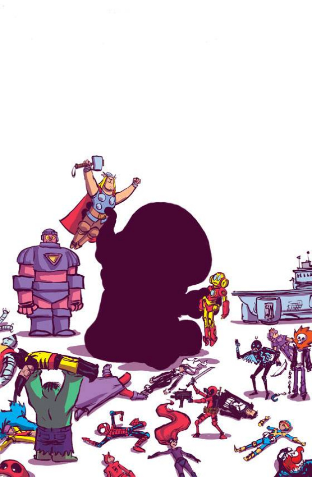 Secret Wars #1 (Young Cover)