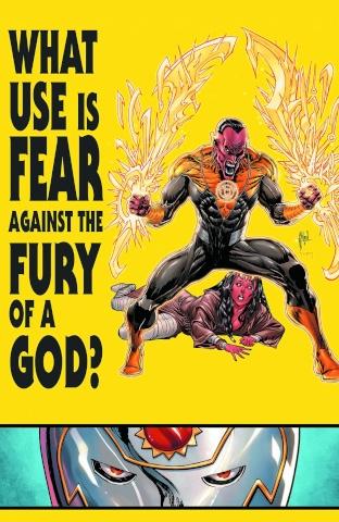 Sinestro #6 (Godhead)