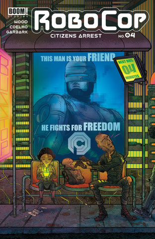 RoboCop: Citizen's Arrest #4 (Subscription Rubin Cover)