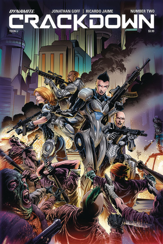 Crackdown #2 (Jaime Cover)
