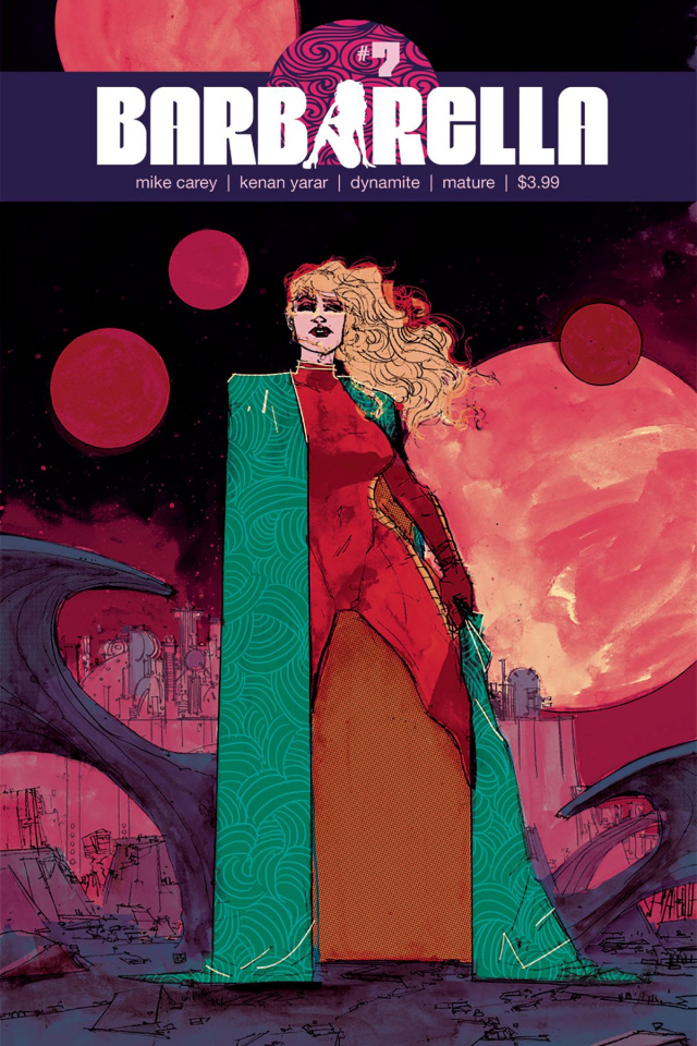 Barbarella #7 (Sherman Cover)