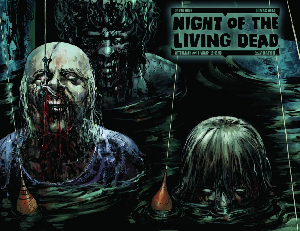 Night of the Living Dead: Aftermath #11 (Wrap Cover)