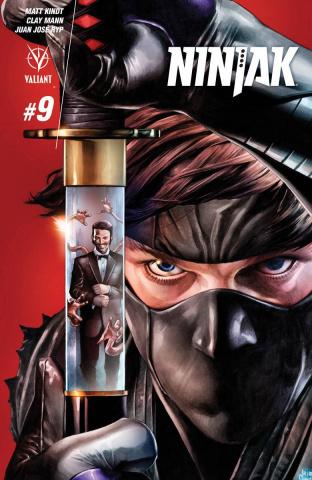 Ninjak #9 (Suayan Cover)