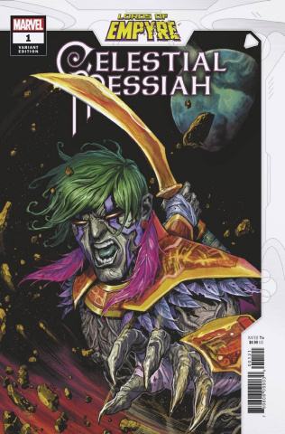 Lords of Empyre: Celestial Messiah #1 (Cassara Cover)
