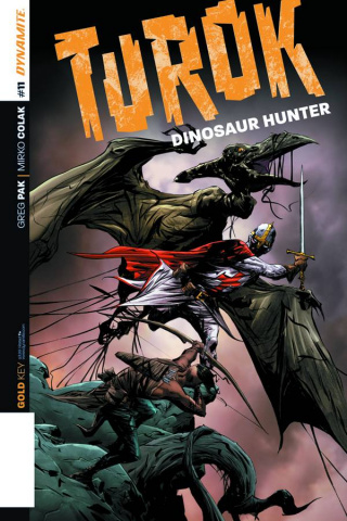 Turok: Dinosaur Hunter #11 (Lee Subscription Cover)