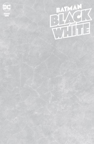 Batman: Black & White #1 (Blank Cover)