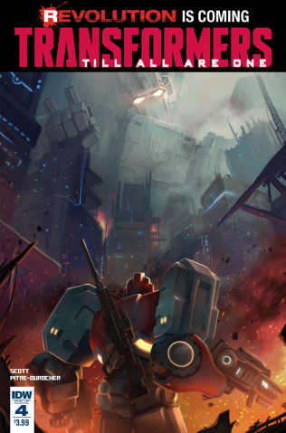 The Transformers: Till All Are One #4