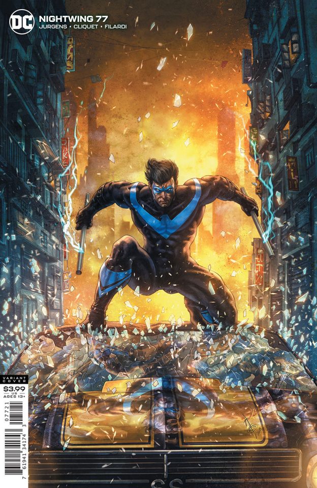 Nightwing #77 (Alan Quah Cover)